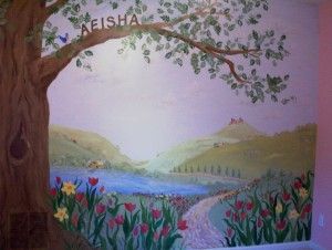 Babies room murals atlanta