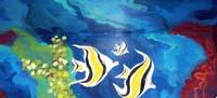 Aquatic mural